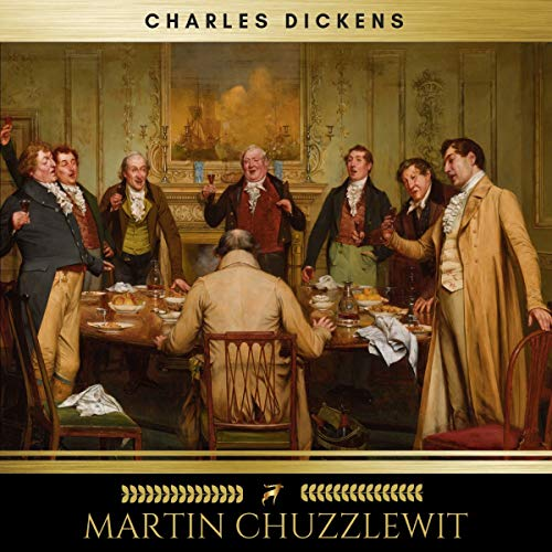 Martin Chuzzlewit audiobook cover art