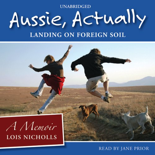 Aussie, Actually audiobook cover art