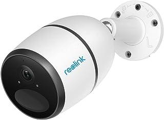 Reolink Go 1080P Cámara de Vigilancia Móvil 3G/4G LTE Exterior Tarjeta SIM Batería Recargable/Panel Solar Conectividad LTE Sensor PIR (Incluida Tarjeta Vodafone V-SIM No Compatible con LAN/WLAN)