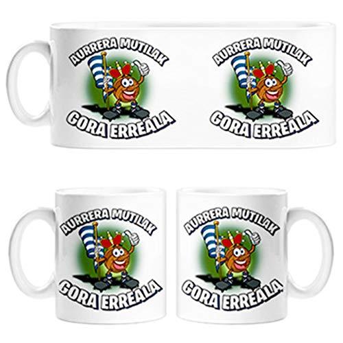 Diver Tazas Taza Parodia de la Mascota de fútbol de San Sebastian - Cerámica