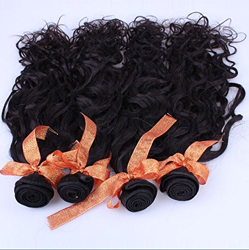 8A Philippines Virgin Remy Human Hair Bundles Weave Deals Natural Curly 3pcs/lot 300gram Natural Colour 8'10'10' Grace Hair Products Weft Hair Extension
