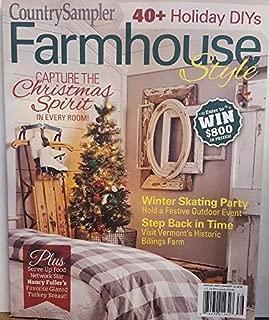 Country Sampler Magazine Farmhouse Style Holiday 2018 Christmas Spirit