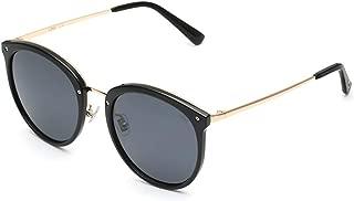 FX Sunglasses Female UV Protection Myopia Sunglasses Round Face Fashion Glasses Female Korean Version of The Tide Polarizer Outdoor Hiking (Color : Gray)