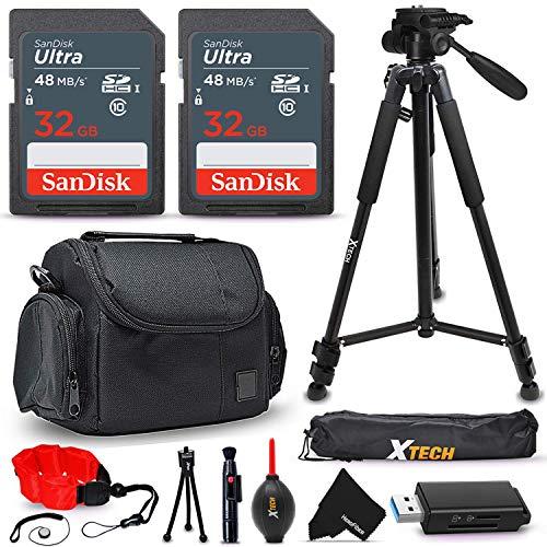 15 Pc Accessory Kit for Nikon Coolpix B600 B500 B700 A1000 A900 P1000 L340 L840 L830 W300 W100 P900 P610 AW130 AW120 S9900 S9700 S7000 S6900 P530 Digital Camera + 64gb SD Memory, Case, Tripod + More