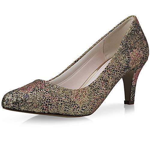 Rainbow Club Brooke - Zapatos de novia para mujer (satén brillante), color...