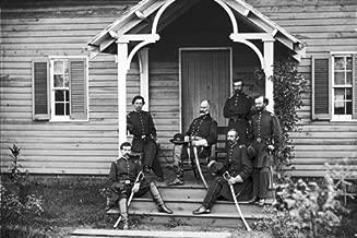 New 4x6 Civil War Photo: Union Provost Marshal Marsena Patrick & staff, Culpeper