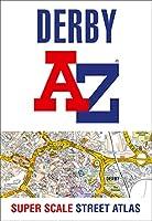 Derby A-Z Super Scale Street Atlas: A4 Paperback