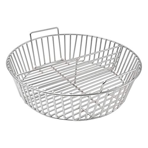 only fire Stainless Steel Charcoal Ash Basket Fits for X-Large Big Green Egg Ceramic Grills