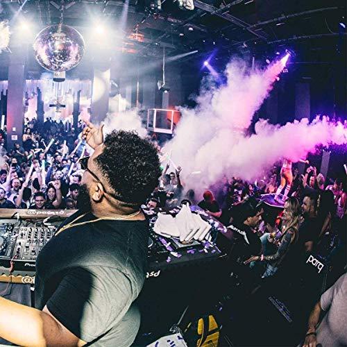 AONCO Nebelmaschinen 500W Verbesserte mit Drahtloser Fernbedienung und Bunter Licht für Feiertage, Hochzeiten,Theater Party Club DJ Effekt - 6