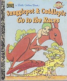 Snugglepot & Cuddlepie Go to the Races (Little Golden Book)
