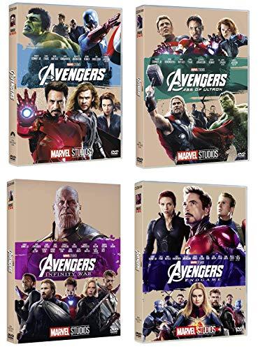 Avengers Collection (4 film in DVD Edizione 10° anniversario) Edizione Italiana - The avengers + Age of Ultron + Infinity war + Endgame