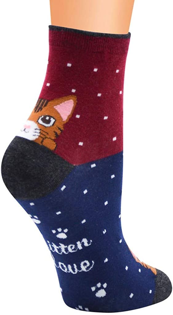 Casual Now on sale Socks for Women Super Max 79% OFF Funny Funky Soft Comfort Crew