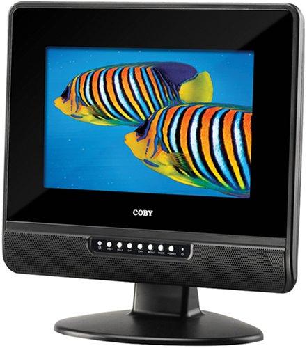Coby TFTV1022 10.2-Inch Widescreen TFT LCD Digital TV/Monitor (Black)