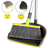 "Best Broom And Dustpans - Broom and Dustpan Set Upright, 40"" Brooms Review"