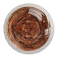 引き出しハンドルは丸いクリスタルガラスを引っ張る キャビネットノブキッチンキャビネットハンドル,石の輪