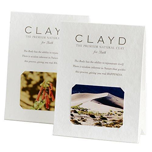 CLAYD for Bath(クレイドフォーバス) ONETIME 2個入り