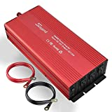 soyond 3000W Power Inverter Modified Sine Wave Converter for Home Car RV with AC Outlets Converter DC 12V in to AC 110V Out