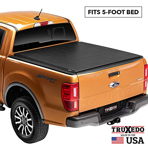 "TruXedo Lo Pro Soft Roll Up Truck Bed Tonneau Cover | 520601 | fits 05-16 Honda Ridgeline 4'8"" bed"