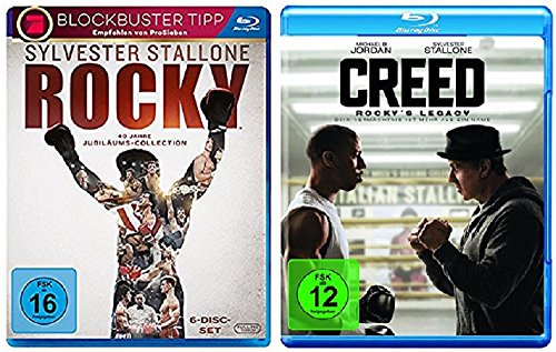 Rocky Blu-ray Box The Complete Saga + Creed - Rocky's Legacy Blu-ray [Blu-ray Set]