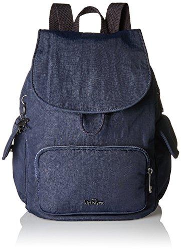 Kipling City Pack S, Sacs à dos femme, Blau (Deepest Blue), 27x33.5x19 cm (B x H T)