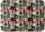 Alfombrilla de baño Alfombras de baño con respaldo antideslizante, Pintura de estilo surrealista de pareja debajo de Umbrealla, Alfombra de decoración de piso para cocina, dormitorio, interior, 30