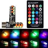 HKFV RGB T10-COB Glühbirne Blitzlicht Atmosphäre...