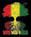 Roots Rock Reggae Fleece Blanket - 79' x 94'
