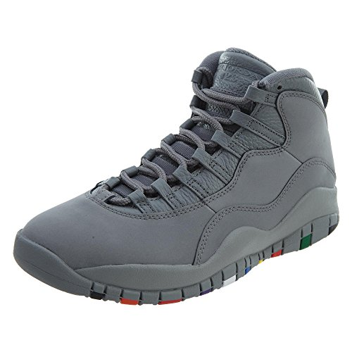 Tênis Nike Air Jordan 10 Retro Cool Grey Closer Look (42)