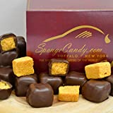 Chocolate Sponge Candy (4 flavors available) From the Sponge Candy Capital of the World, Buffalo New York! (Dark Chocolate)