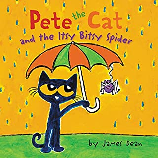 Pete the Cat and the Itsy Bitsy Spider                   By:                                                                                                                                 James Dean                               Narrated by:                                                                                                                                 James Fouhey                      Length: 5 mins     Not rated yet     Overall 0.0