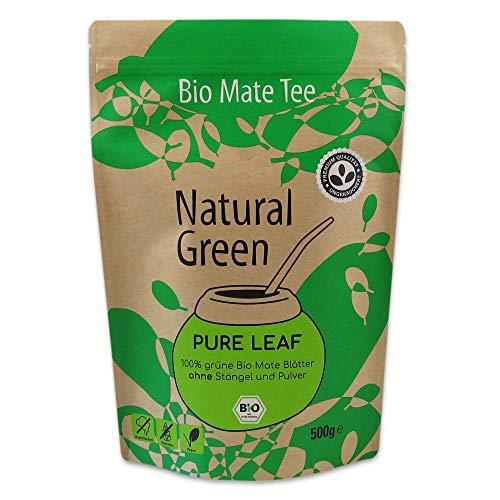 Bio Mate Tee Delicatino ● Natural Green aus Brasilien ● 500g lose grüne Mateblätter ● ungeräuchert ● ohne Stängel & Pulver