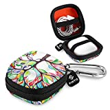 Fintie Case for AirPods, Hard EVA Shockproof Portable Full Protective Cover Carrying Bag Compatibe with AirPods 1 and AirPods 2 Charging Case Accessories, Love Tree