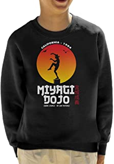 Cloud City 7 Miyagi Dojo California 1984 Karate Kid Kid's Sweatshirt
