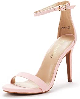 DREAM PAIRS Women's Karrie High Stiletto Pump Heel Sandals