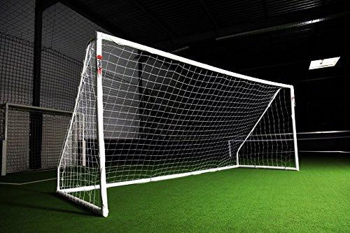 ¡OFERTA IMPERDIBLE! Portería de fútbol POWERSHOT 'PRO' 5 x 2 m, de PVC y anti-UV, con 2 AÑOS de garantía!