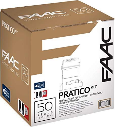 Faac 10564944 - Práctico kit 746 230 V Automatización Puerta batiente Puertas batientes de baño de aceite para puerta corredera de uso intensivo con peso máximo 600 kg