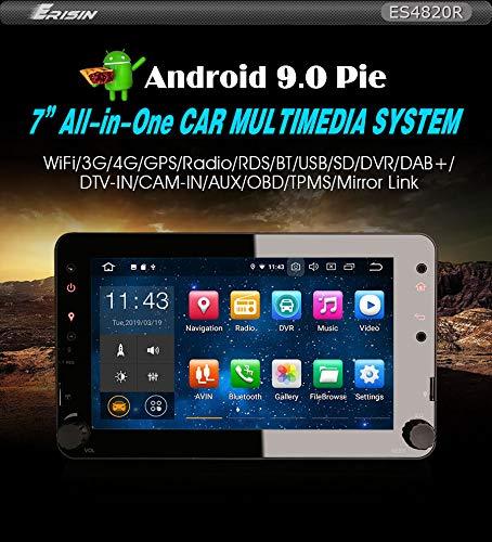 Erisin ES4820R 7 Zoll Android 9.0 Autoradio für Navi 4G WiFi Radio für Alfa Romeo Spider