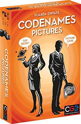 Czech Games Edition CGE00036 Nee Codenames: Pictures, Spel, 1 stuk