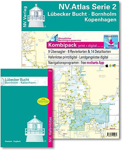 NV. Atlas Serie 2: Lübecker Bucht und Bornholm (inkl. CD-ROM & App)