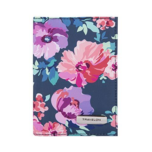 Travelon: Bifold Passport Holder - Blossom Floral