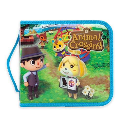 PowerA Aufbewahrungskoffer für Nintendo 2DS & 3DS Konsole und Zubehör - Animal Crossing