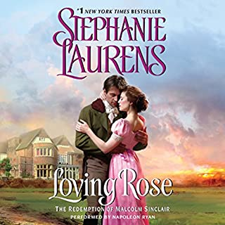 Loving Rose audiobook cover art