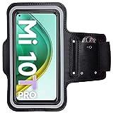 CoverKingz - Bracciale sportivo per Xiaomi Mi 10T / Mi 10T Pro, con scomparto per chiavi Mi 10T / Mi 10T Pro, colore: Nero