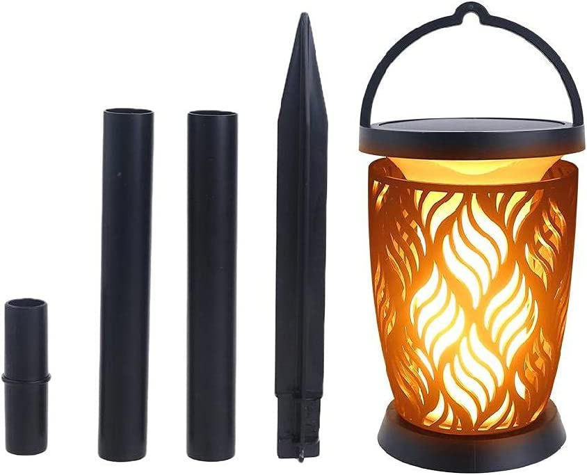 MAOSUO Solar Torches Lights 96 free shipping Lamp Beads Miami Mall Flickering with Flame