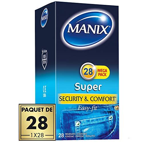 Préservatifs MANIX SUPER - Maxi pack de 28