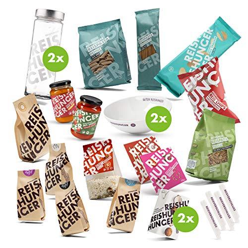 Reishunger Probierset Deluxe (25-teilig) - Sortenreine Bio-Reissorten und Bio-Risotto-Fertigmischung - Perfekt als Geschenk