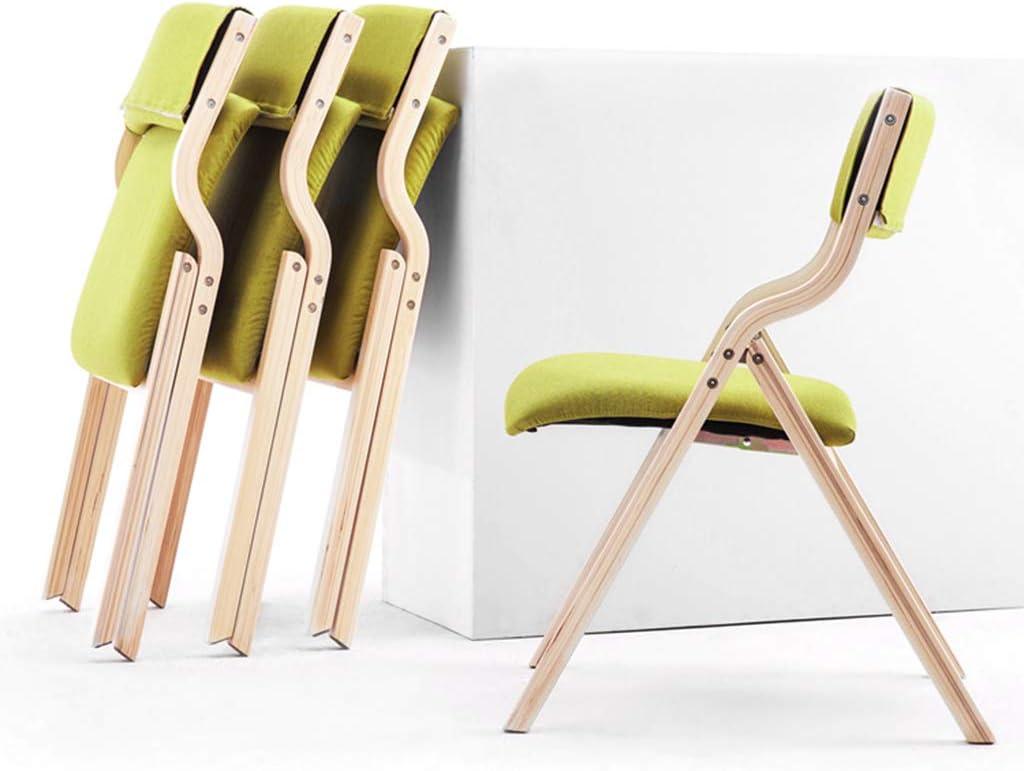 Calyvina Chaise de Salle à Manger Pliante en Bois Massif Rouge avec Dossier Confortable pour chaises de Salle à Manger Pliables de Cuisine,Gray Gray