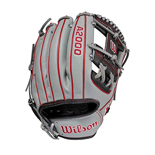 Wilson 2021 A2000 Spin Control 1975 (Infield) - Right Hand Throw,11.75',Gray
