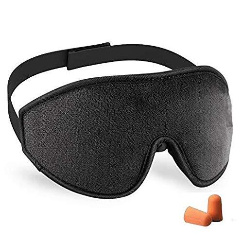 Sleep mask 3D, eye mask, soft lined mask, for travel, sleep, relaxation, meditation