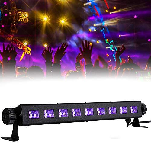 Sararoom UV Beleuchtung, UV Schwarzlicht 27W für Club Party Karneval Disco Ballsaal Bühne